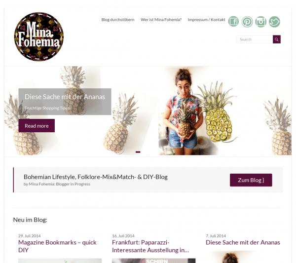 minafohemia.de Lifestyle & DIYs