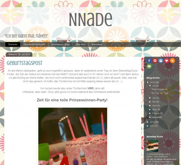 NNade - Ich bin dann mal nähen