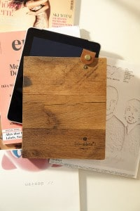 Die iPad-Hülle: Früher war ich mal Parkett