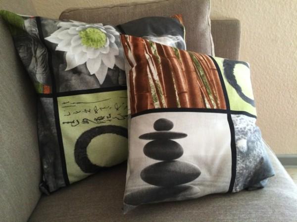Ruckzuck ein paar neue Kissenbezüge mit Hotelverschluss