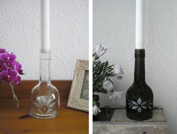 Flasche mit Gravur