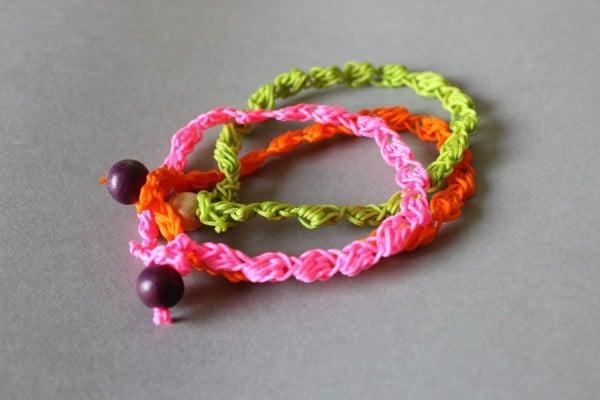 DIY – Gehäkeltes Bobble Armband und Kette