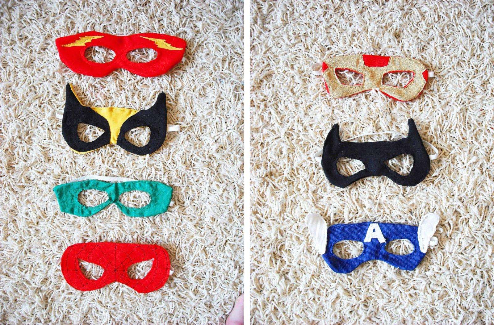 superheldenmasken handmade kultur. Black Bedroom Furniture Sets. Home Design Ideas