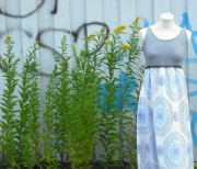 geschummeltes Kleid