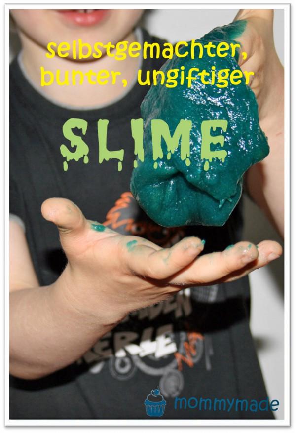 selbstgemachter, ungiftiger Slime!