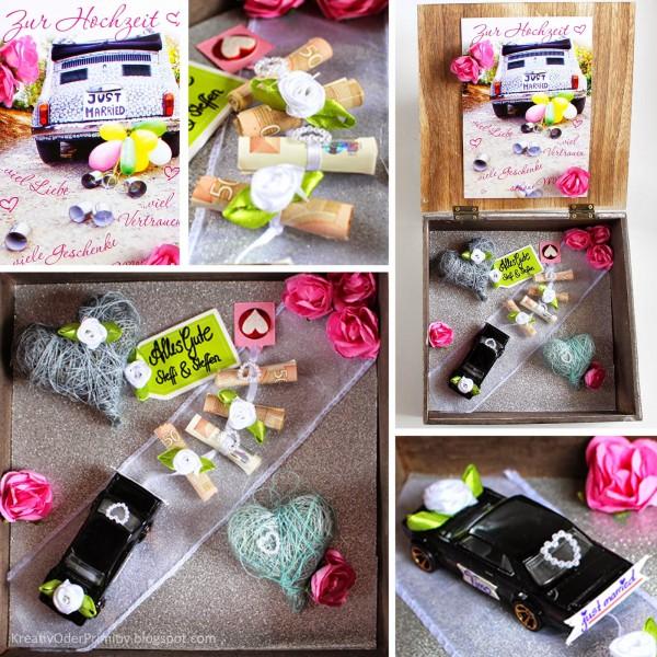 Geldgeschenk Zur Hochzeit Kreativ Verpackt Handmade Kultur