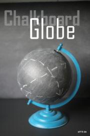 DIY: Chalkboard Globe