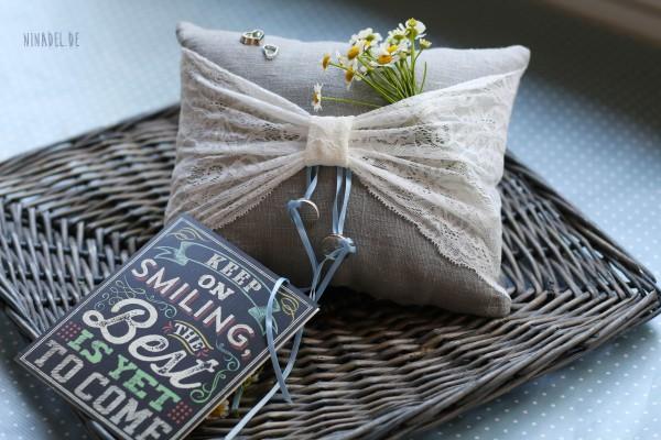 diy vintage ringkissen handmade kultur. Black Bedroom Furniture Sets. Home Design Ideas