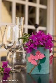Blumendose (Dosenupcycling)