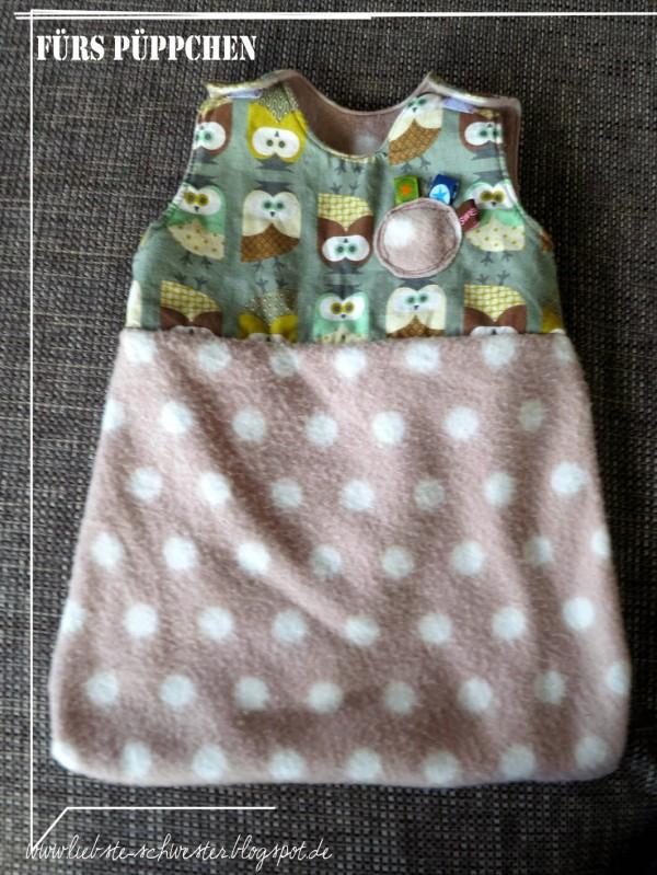 Puppenschlafsack Für Die Puppenmama Handmade Kultur