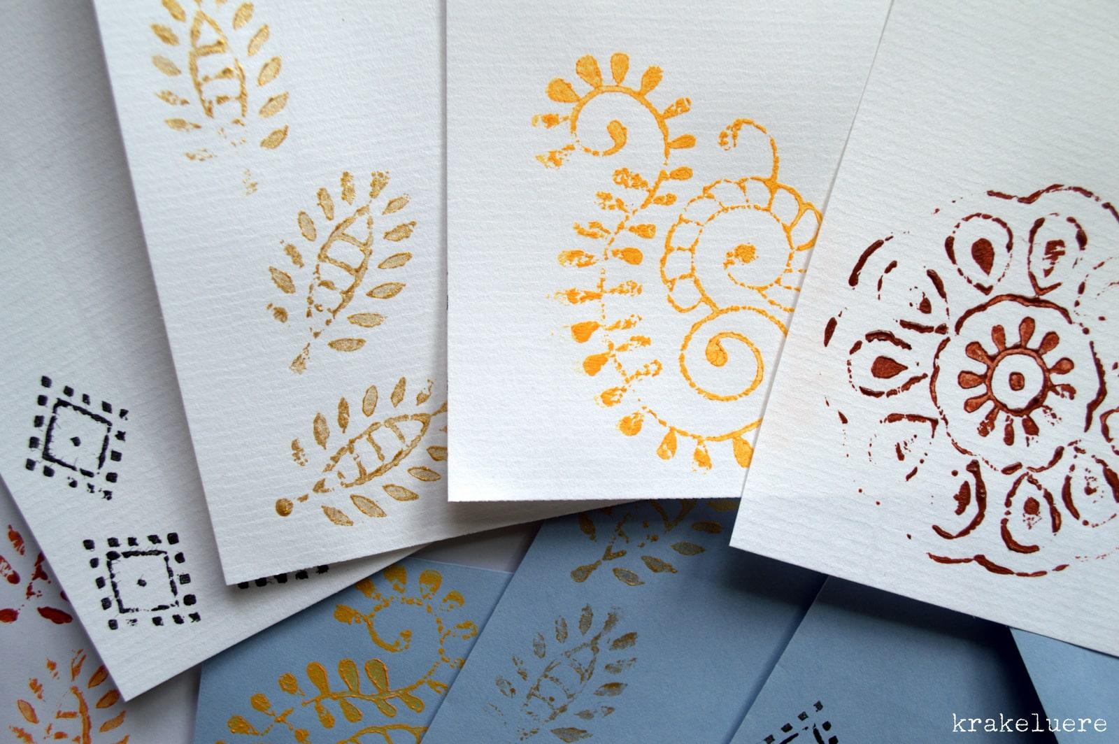 kalamkari briefpapier handmade kultur. Black Bedroom Furniture Sets. Home Design Ideas