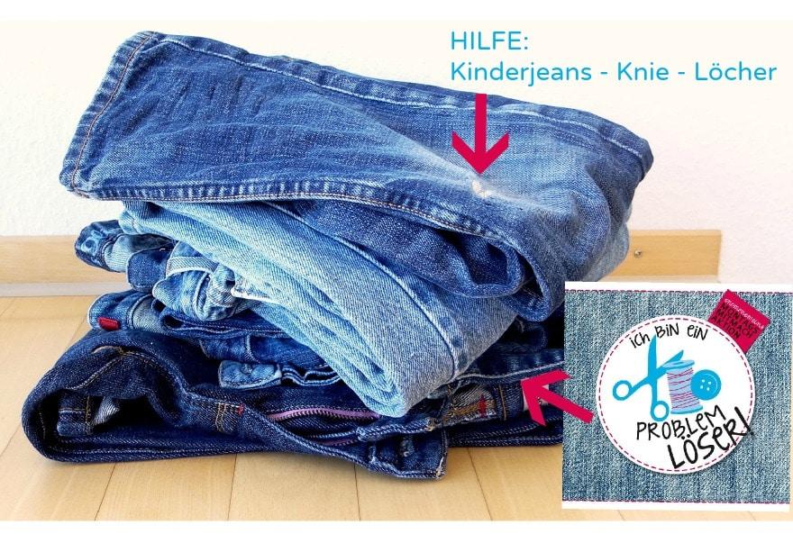 Jeans Lcher Kinderjeans Flicken HANDMADE Kultur