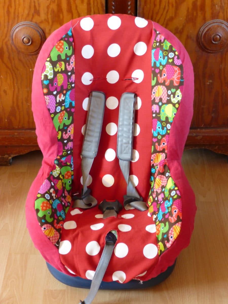 Kindersitzbezug fürs Auto