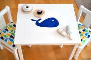 DIY-Tutorial Verschönerung der Kindersitzgruppe