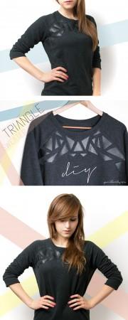 DIY Triangle Sweater - Videoanleitung