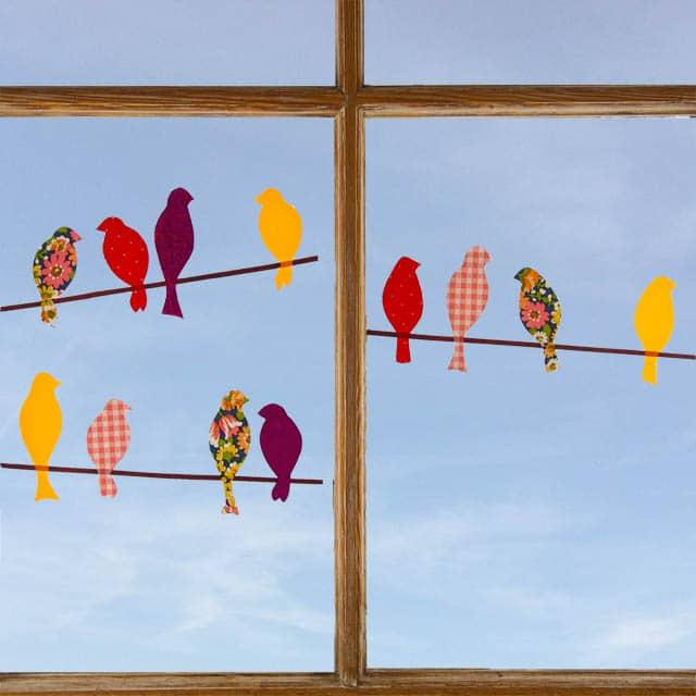 V gel auf der stange handmade kultur for Fensterscheibe bestellen