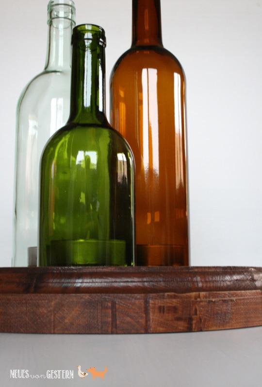 Upcycling Aus Alten Weinflaschen Handmade Kultur