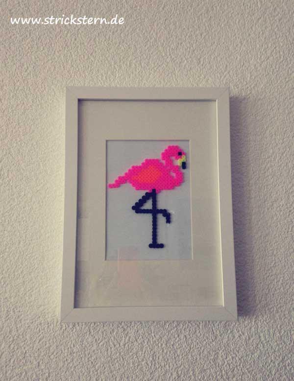 Bügelperlen Bild: Flamingo
