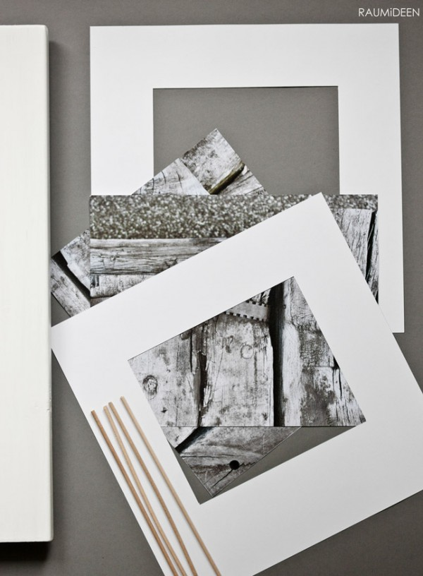 bilderrahmen selbst gemacht handmade kultur. Black Bedroom Furniture Sets. Home Design Ideas