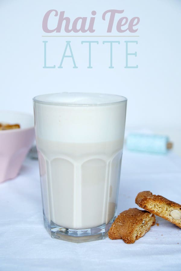 Chai Tee Latte Rezept