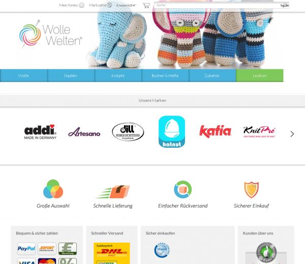 WolleWelten.de Onlineshop