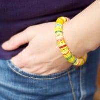Zuckersüßes Knopfarmband