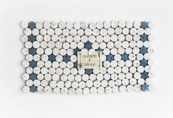 Korken Mosaik