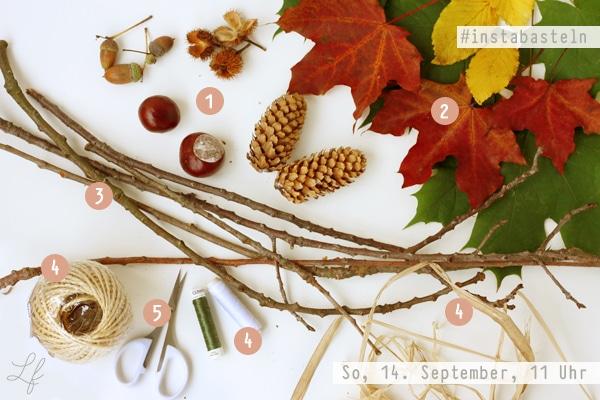 insta basteln im september es wird herbstlich handmade