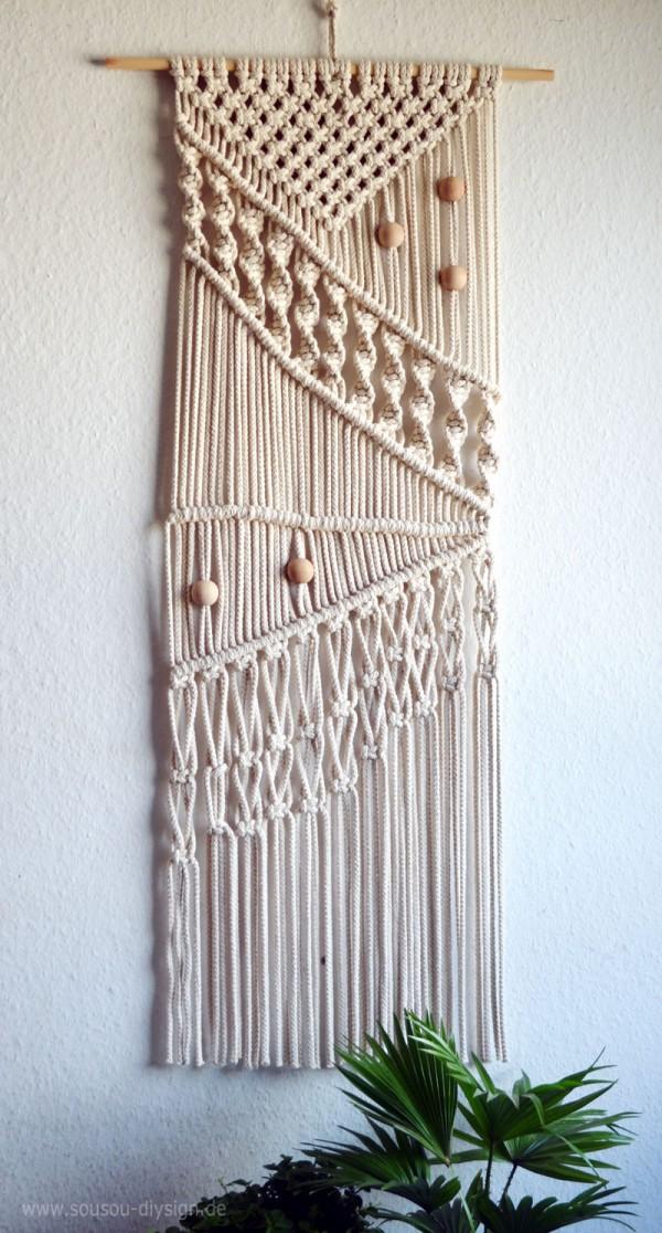 DIY Makrame Wandbehänge