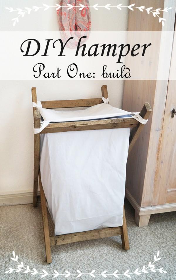 Wäschekorb in Eigenarbeit