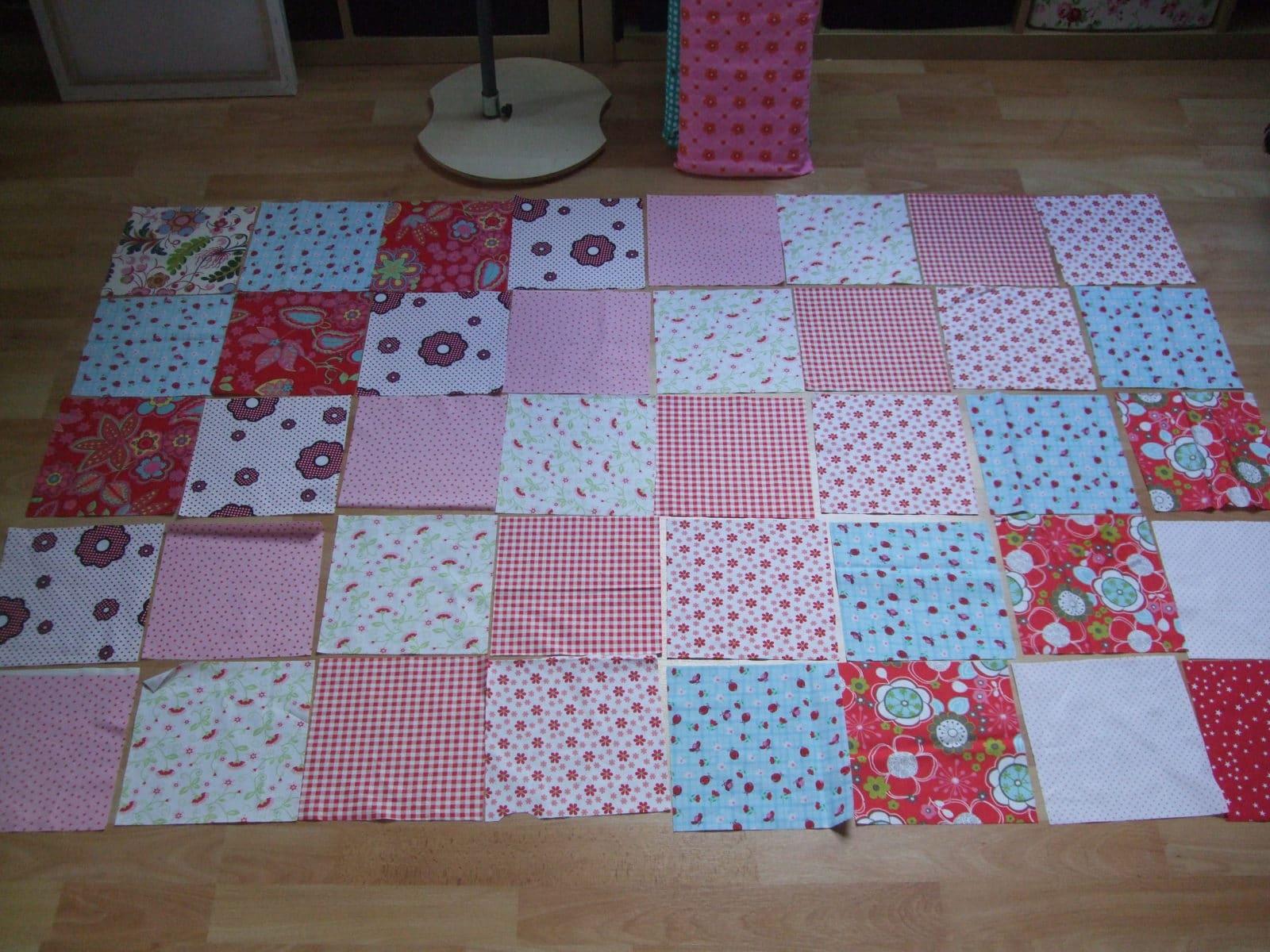 quadrate patchwork decke häkeln