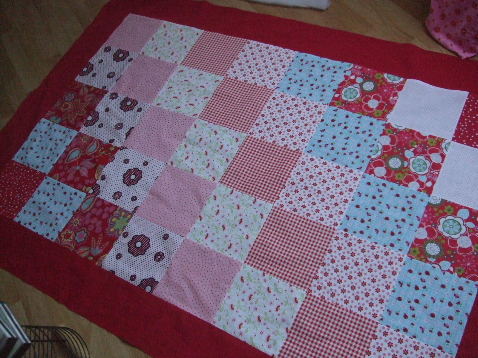 Gestalten patchworkdecke selbst Bettwäsche Mit
