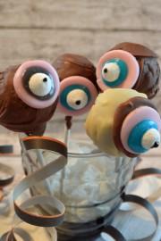 Monster Cake Pops, der Gruselspaß zu Halloween