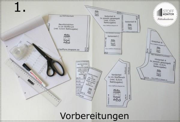 Der Mix macht's: DIY-Hose aus verschiedenen Stoffen