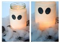 Mumien Teelicht für Halloween
