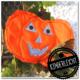 """Strahlender"" Halloween Kürbis"