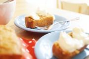 Möhren-Zimt-Kuchen mit Frischkäsecreme