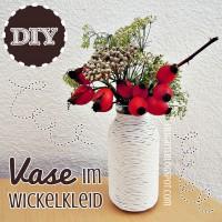 DIY: Vase im Wickelkleid