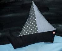 Segelboot Kissen