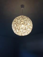 Designerlampe selbst gemacht