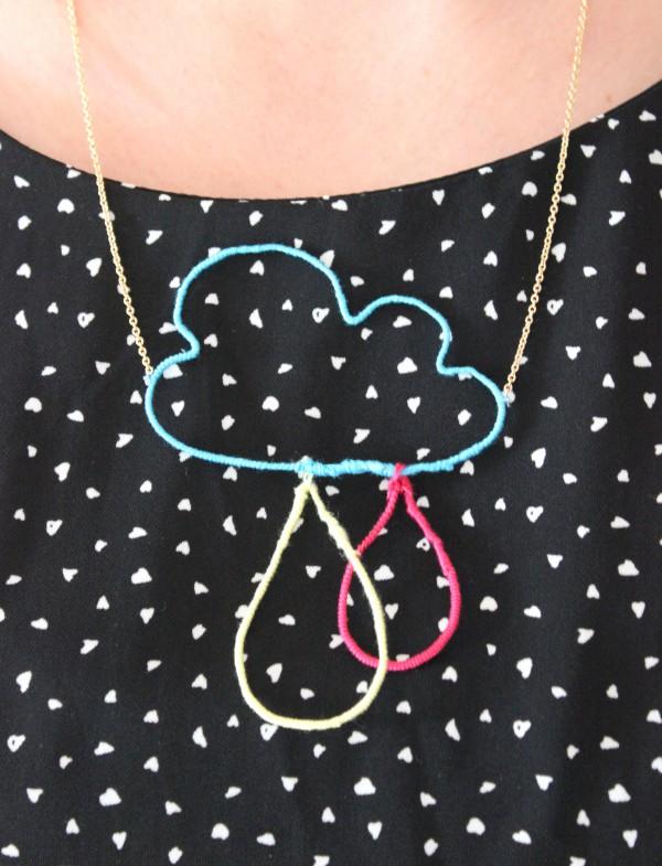 """Halskette """"let it rain"""""""
