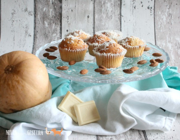 White Chocolate Pumpkin Brownies