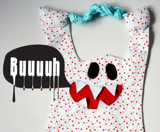 Gruselige Halloween Geister Tasche - HANDMADE Kultur