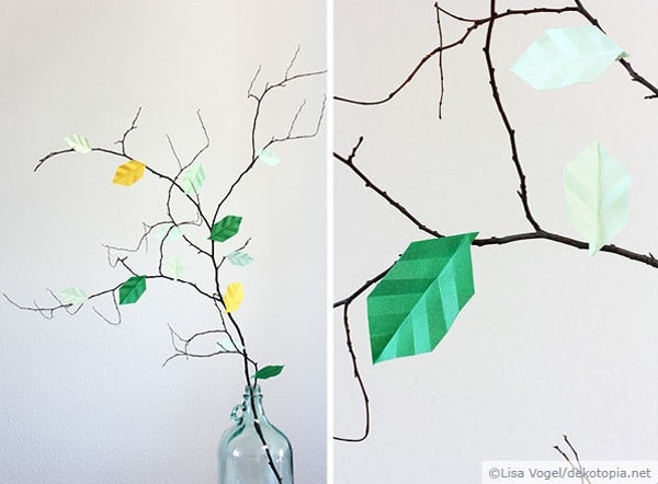 Origami-Blätter