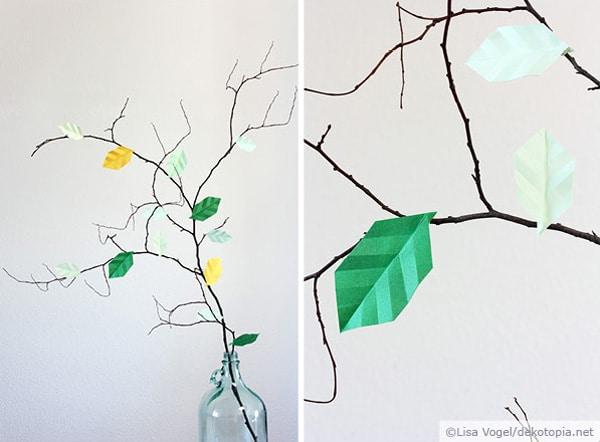 origami bl tter handmade kultur. Black Bedroom Furniture Sets. Home Design Ideas
