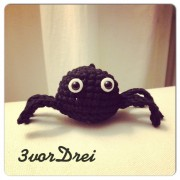 Itsy-bitsy spider! Eine Halloween-Häkelanleitung