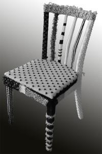 Stuhl in neuem Kleid