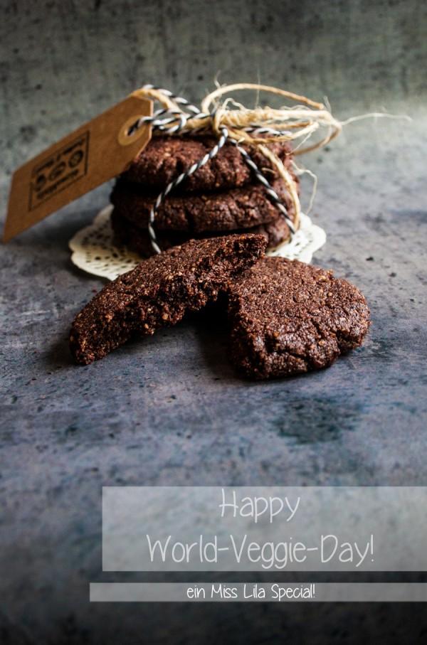 Superschokoladige Schokocookies ohne Muh!