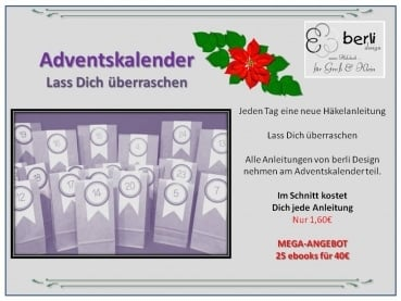 Adventskalender .... Häkel-ebooks