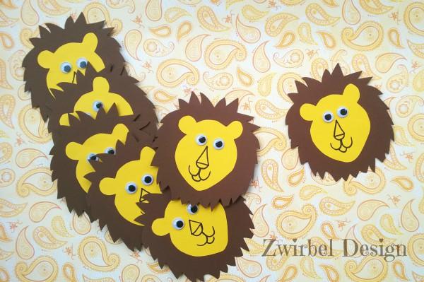 Löwenkarte - HANDMADE Kultur